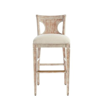 Juniper Dell 30.25 Bar Stool Finish: English Clay