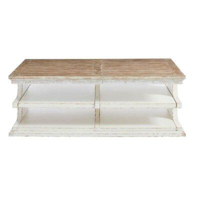 Juniper Dell Coffee Table Base Color: 17th Century White