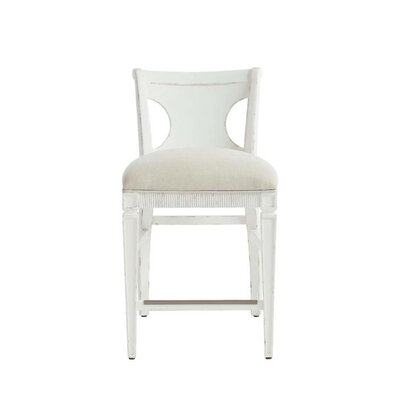 Juniper Dell 24.25 Bar Stool Finish: 17th Century White