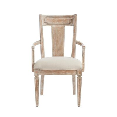 Juniper Dell Contemporary Arm Chair Finish: English Clay