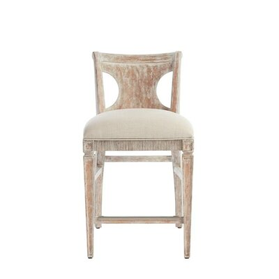 Juniper Dell 24.25 Bar Stool Finish: English Clay