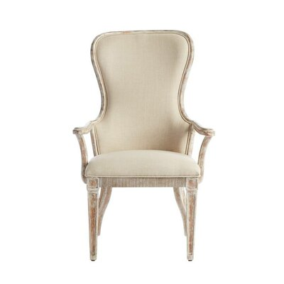 Juniper Dell Arm chair Color: English Clay