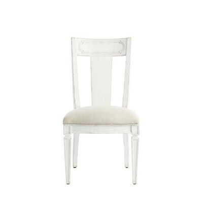 Juniper Dell Contemporary Side Chair Finish: 17th Century White