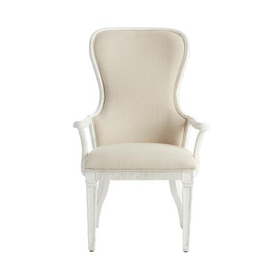 Juniper Dell Arm chair Finish: 17th Century White