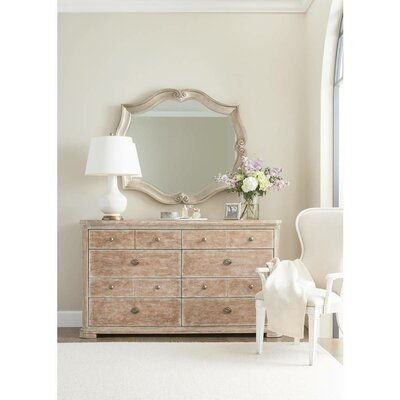 Juniper Dell 8 Drawer Dresser with Mirror