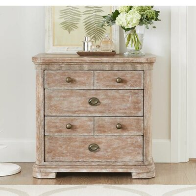Juniper Dell 4 Drawer Nightstand Color: English Clay