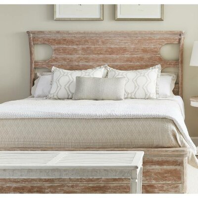 Juniper Dell Panel Bed Finish: English Clay, Size: Queen