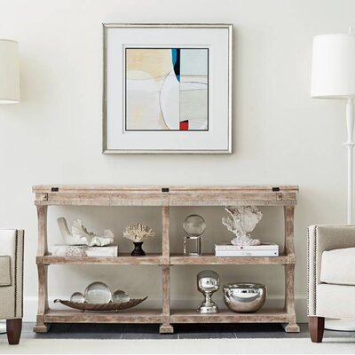 Juniper Dell Flip-Top Console Table Finish: English Clay