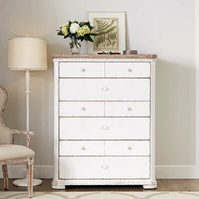 Juniper Dell 6 Drawer Chest Finish: 17th Century White