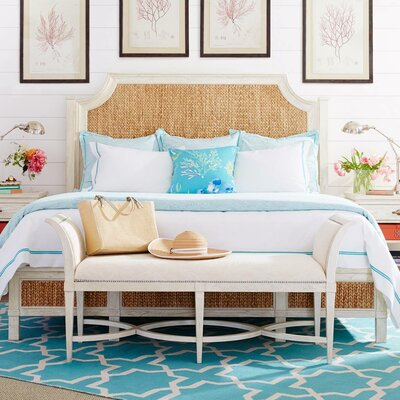 Resort Water Meadow Woven Platform Bed Size: California King
