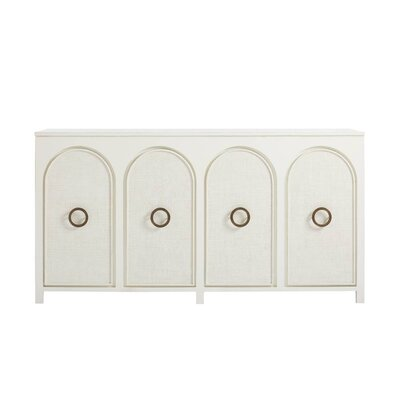 Havana Crossing Nuevo Vedado Buffet Table Color: Finca White