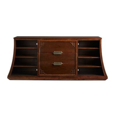 Havana Crossing Copa Colonial 77 TV Stand Color: Colonial Mahogany