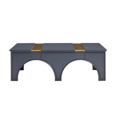 Havana Crossing Portico Coffee Table Finish: Indigo Blue