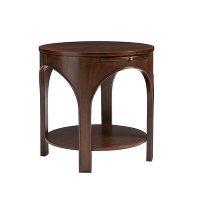 Havana Crossing End Table Color: Colonial Mahogany