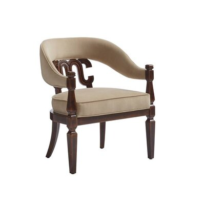 Havana Crossing Arm Chair Finish: Colonial Mahogany