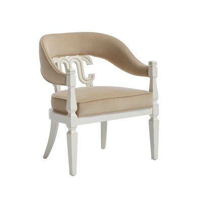 Havana Crossing Arm Chair Finish: Finca White