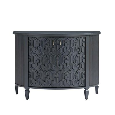 Havana Crossing Console Table Color: Indigo Blue