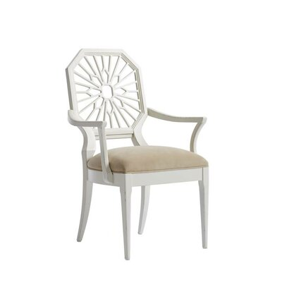 Havana Crossing Lasa Dining Chair Frame Color: Finca White