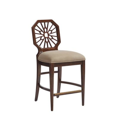 Havana Crossing Bar Stool Color: Colonial Mahogany
