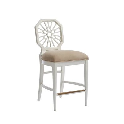 Havana Crossing Bar Stool Color: Finca White