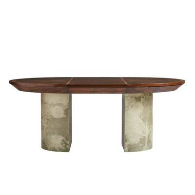 Havana Crossing La Rampa Drop Leaf Dining Table Top Color: Colonial Mahogany