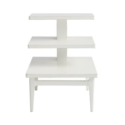 Havana Crossing End Table Color: Finca White