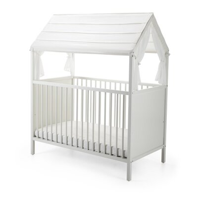 Home Bed Canopy Finish: White