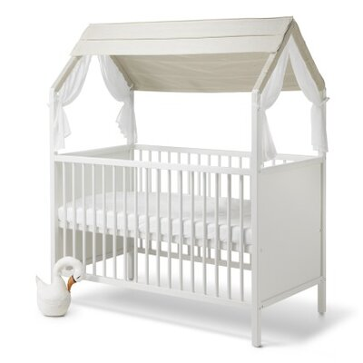 Home Bed Canopy Finish: Natural