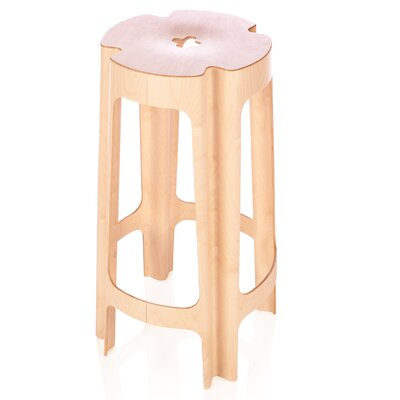 Bloom 26 Bar Stool Finish: Birch