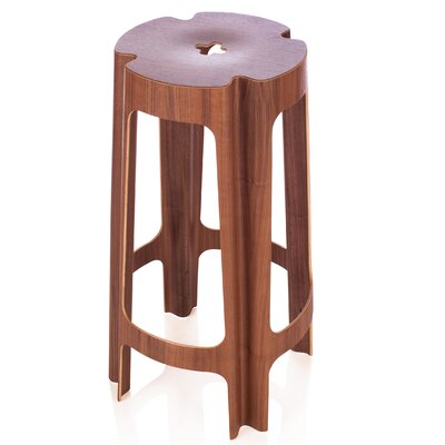 Bloom 26 Bar Stool Finish: Walnut