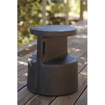 Tote End Table Finish: Black