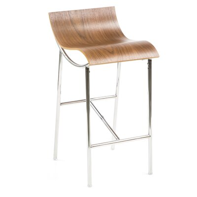 ARP Bar Stool Finish: Walnut