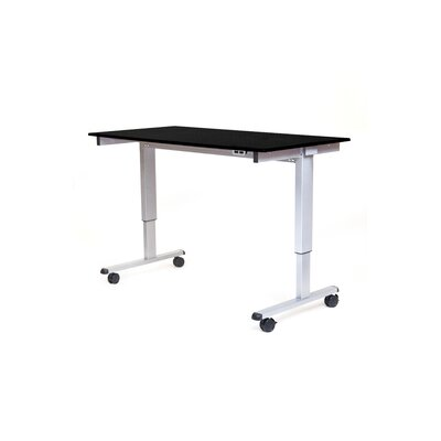 Height Adjustable Desk with Electric Hardware Finish: White Product Photo 179