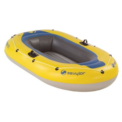 Image of Sevylor Caravelle 2 Person Inflatable Boat with Pump and Oars (2000003395)