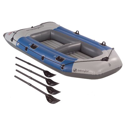 Image of Sevylor Colossus Inflatable 4 Person Boat with Oars C002 (2000003391)