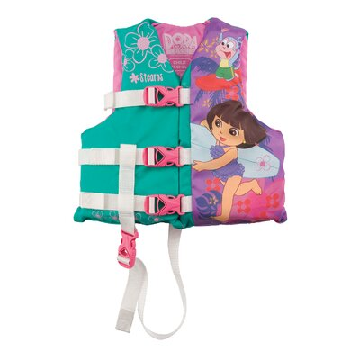 Image of Stearns Nickelodeon Dora the Explorer PFD 3043 Child Life Jacket (2000009760)