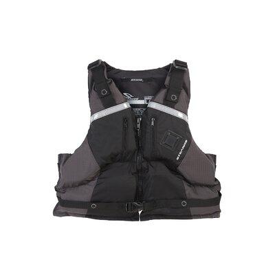 Image of Stearns PFD 6601 Panache Paddlesport Carbon Life Vest Size: Large / Xlarge (2000007017)