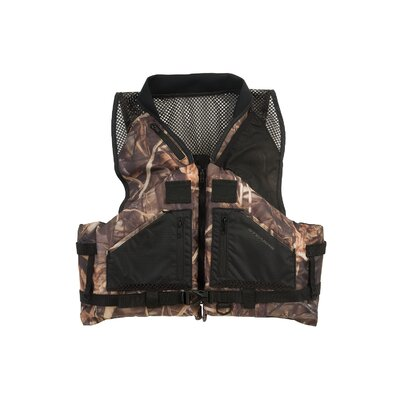 Stearns PFD 2220 General Comfort Camo Boating Life Vest - Size: Xlarge at Sears.com