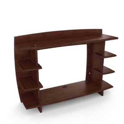 Sustainable Bamboo 36 H x 13 W Desk Hutch
