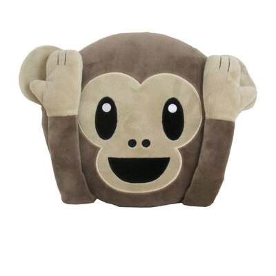 Kalia Monkey Throw Pillow