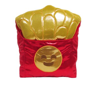 Kalia Smiley Fries Throw Pillow