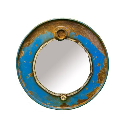 Chris Bruning Steam Punk Barrel Mirror