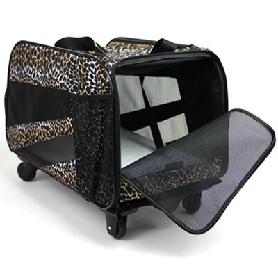 Pet Carrier Size: Small (12 H x 10.5 W x 18 L)