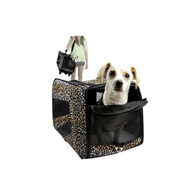 Pet Carrier Size: Medium (8.5 H x 11.25 W x 19.5 L)