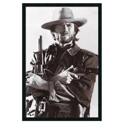 Clint Eastwood Framed Photographic Print DSW01588