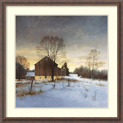 'Breaking Light' by Ray Hendershot Framed Photographic print DSW115058