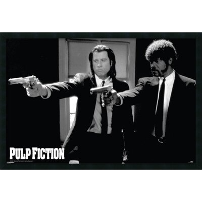 Pulp Fiction - Duo Guns by Anonymous Framed Photographic Print DSW177272
