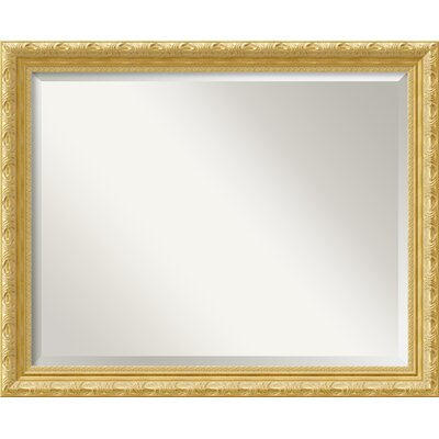 Roseland Rectangle Wall Mirror Size: 25.88'' H x 31.88'' W