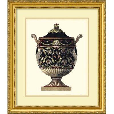 'Antonini Clementino Urn IV' by Da Carlo Antonini Framed Photographic Print