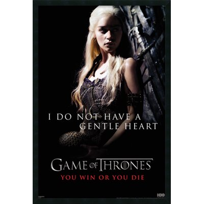 Game of Thrones : Gentle Heart (Daenerys) Framed Photographic Print DSW1408607